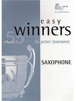 Easy Winners For Saxophone Books | Saxophone