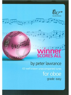 Arr. Peter Lawrance: Winner Scores All For Oboe Books | Oboe