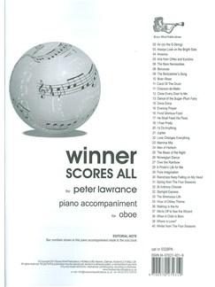 Arr. Peter Lawrance: Winner Scores All For Oboe - Piano Accompaniment Book Books | Piano Accompaniment