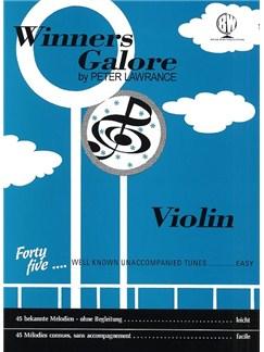 Peter Lawrance: Winners Galore (Violin) Books | Violin
