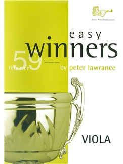 Arr. Peter Lawrance: Easy Winners For Viola (Book/CD) Books and CDs | Viola