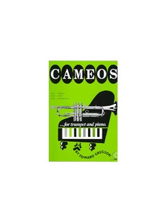 Edward Gregson: Cameos For Trumpet Books | Trumpet, Piano Accompaniment