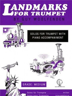 Guy Woolfenden: Landmarks For Trumpet Books | Trumpet, Piano Accompaniment