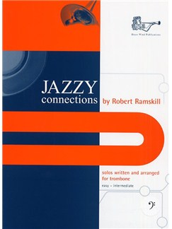 Jazzy Connections (Bass Clef) Books | Trombone, Piano Accompaniment