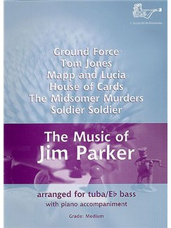 Jim Parker: The Music Of Jim Parker For Tuba - Bass Clef Books | Tuba, Piano Accompaniment