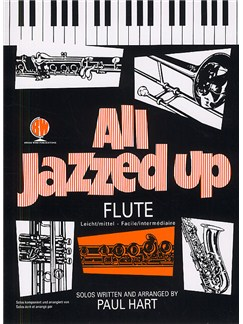 All Jazzed Up For Flute Books | Flute, Piano Accompaniment