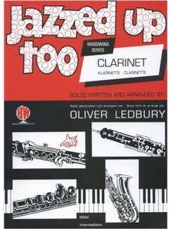 Jazzed Up Too For Clarinet Books | Clarinet, Piano Accompaniment
