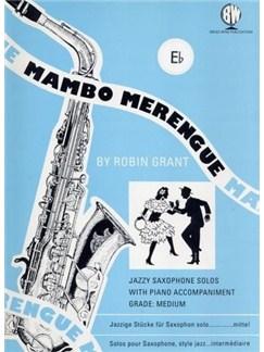 Mambo Merengue (Alto Saxophone) Books | Alto Saxophone