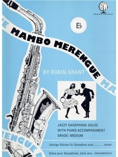 Mambo Merengue (Tenor Saxophone) Books | Tenor Saxophone