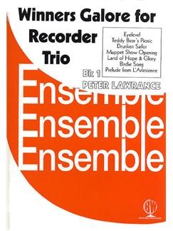 Winners Galore For Recorder Trio Book 1 Books | Recorder Ensemble