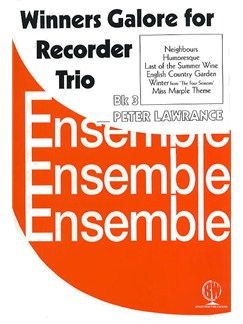Winners Galore For Recorder Trio Book 3 Books | Recorder Ensemble