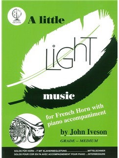A Little Light Music (French Horn) Books | Horn, Piano Accompaniment