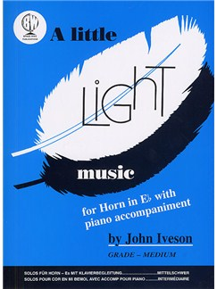 A Little Light Music (E Flat Horn) Books | Tenor Horn, Piano Accompaniment