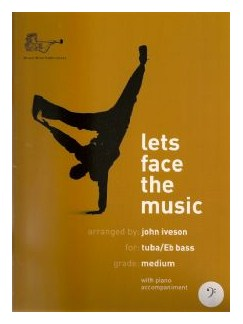Let's Face The Music (Tuba Bass Clef) Books | Tuba, Piano Accompaniment