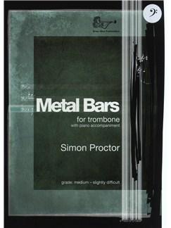 Simon Proctor: Metal Bars (Trombone) - Bass Clef Books   Trombone, Piano Accompaniment