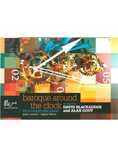 Arr. Blackadder And Gout: Baroque Around The Clock For Trumpet Books | Trumpet, Piano Accompaniment