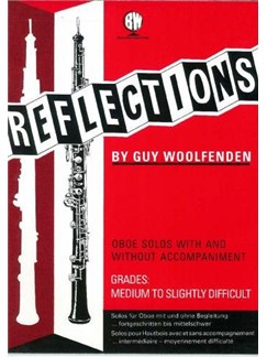 Guy Woolfenden: Reflections For Oboe Books | Oboe, Piano Accompaniment
