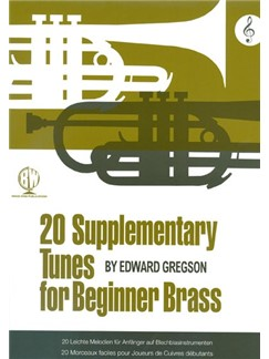 Edward Gregson: 20 Supplementary Tunes For Beginner Brass (Treble Clef) Books | Brass Instruments (Including Horn and Tuba)