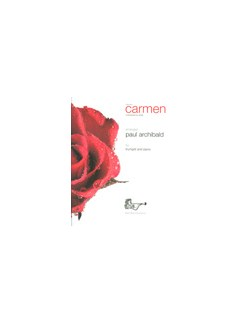 Suite from Carmen Books | Trumpet, Piano Accompaniment