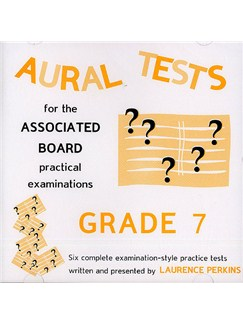 Aural Tests For The Associated Board Practical Examinations - Grade 7 (Valid Until End 2010) CD | Alle instrumenter
