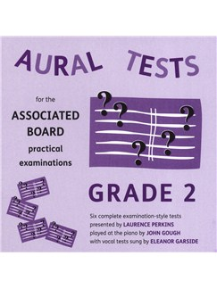 Aural Tests For The ABRSM Practical Examinations - Grade 2 (Valid From January 2011) CDs | All Instruments