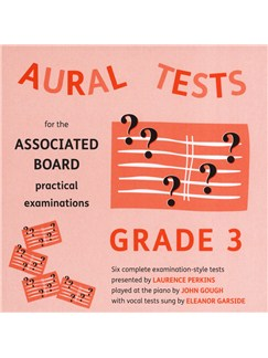 Aural Tests For The ABRSM Practical Examinations - Grade 3 (Valid From January 2011) CDs | All Instruments