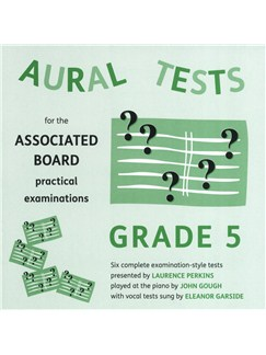 Aural Tests For The ABRSM Practical Examinations - Grade 5 (Valid From January 2011) CDs | All Instruments
