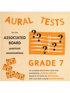 Aural Tests For The ABRSM Practical Examinations - Grade 7 (Valid From January 2011) CDs | All Instruments