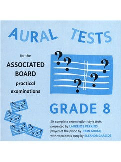 Aural Tests For The ABRSM Practical Examinations - Grade 8 (Valid From January 2011) CDs | All Instruments