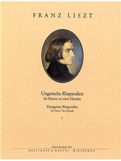 Franz Liszt: Hungarian Rhapsodies Volume 1 (Piano) Books | Piano