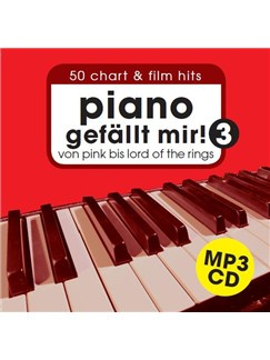 Piano gefällt mir! 3 Accomp. CD Only - Full & Play Along Versions CDs | Piano