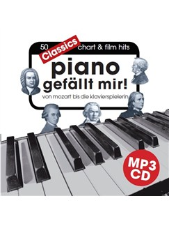 Hans-Günter Heumann: Piano Gefällt Mir! Classics (MP3 CD) CD | Klavier