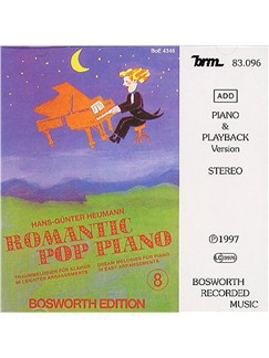 Romantic Pop Piano 8 (CD) CDs | Piano