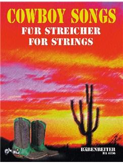 Cowboy Songs For Strings Books | String Ensemble