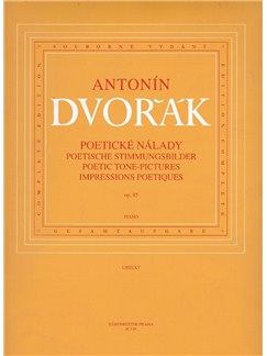 A. Dvorák: Poetic Tone Pictures Op.85 (Piano Solo) Books | Piano
