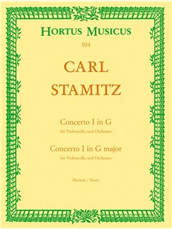 C. Stamitz: Concerto For Cello No.1 In G (Cello Solo) Books | Cello, Orchestra