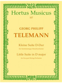 G. P. Telemann: Little Suite In D (Cembalo) Books | Orchestra