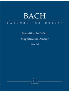 J.S. Bach: Magnificat In D (BWV 243) (Study Score) Books | Orchestra