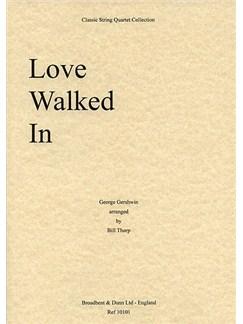 George Gershwin: Love Walked In (String Quartet) - Score Books | String Quartet