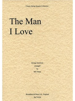 George Gershwin: The Man I Love (String Quartet) - Parts Books | String Quartet