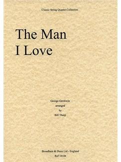 George Gershwin: The Man I Love (String Quartet) - Score Books | String Quartet