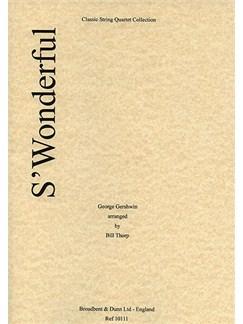 George Gershwin: S'Wonderful (String Quartet) - Parts Books | String Quartet