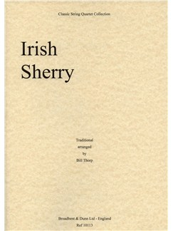 Bill Thorp: Irish Sherry (Parts) Books | String Quartet