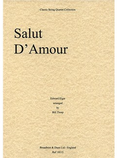 Edward Elgar: Salut D'Amour (String Quartet) - Parts Books | String Quartet