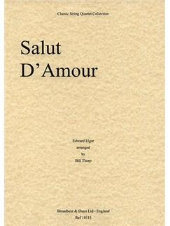 Edward Elgar: Salut D'Amour (String Quartet) - Score Books | String Quartet