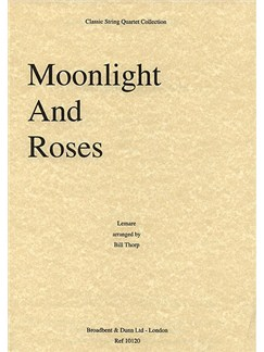 Edwin Lemare: Moonlight And Roses (String Quartet) - Score Books | String Quartet