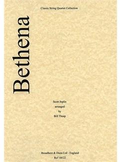 Scott Joplin: Bethena (String Quartet) - Score Books | String Quartet