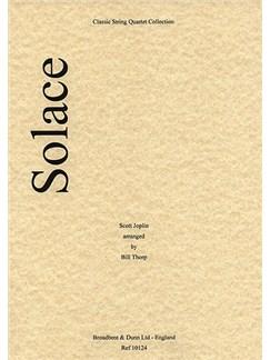 Scott Joplin: Solace (String Quartet) - Score Books | String Quartet