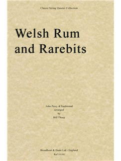John Parry/Traditional: Welsh Rum and Rarebits (Score) Books | String Quartet