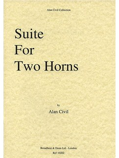 Alan Civil: Suite For Two Horns Books | Horn (Duet)